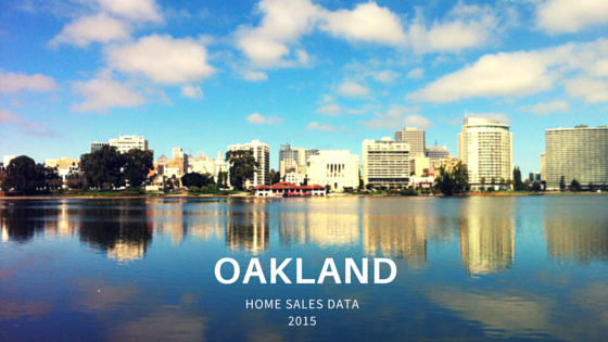 Oakland Home Sales Graphic